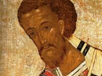 წმიდა იოანე ოქროპირი – კონსტანტინოპოლელი მთავარეპისკოპოსი (+407)