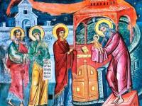 15 თებერვალი (02.02 ძვ.სტ.) – მირქმა (მიგებება) უფლისა ღვთისა და მაცხოვრისა ჩვენისა იესო ქრისტესი
