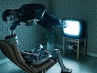 ღირსი ლავრენტი ჩერნიგოველი ტელევიზორზე