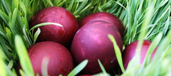 რატომ წითელი კვერცხი?