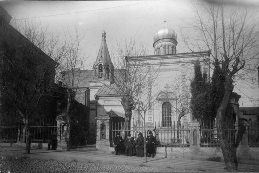 კალოუბნის ტაძრის ფოტო. 1913 წელი