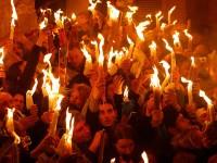 ისტორიული ცნობები აღდგომის ცეცხლის შესახებ