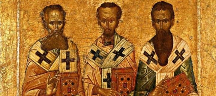 12 თებერვალი (30.01 ძვ.ს.) – სამი მღვდელმთავრის ხსენება