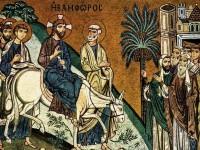 ბზობა – უფლის დიდებით შესვლა იერუსალიმში