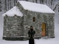 არქიმანდრიტ ლაზარეს (აბაშიძე) დაკრძალვა